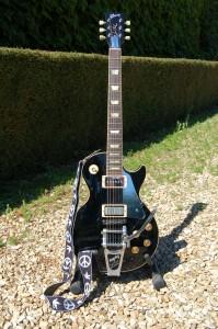 Mark Fawcett's Old Black Customised Gibson Les Paul