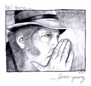 Neil Young Sketch